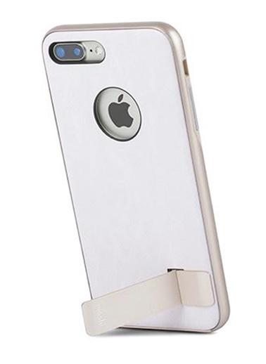 Kameleon iPhone 8 Plus / 7 Plus Fildişi Beyaz Telefon Kılıfı-Moshi